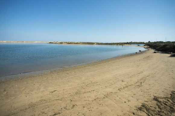 lha de Tavira on Tavira Island in Portugal's Algarve with no tourists in sight