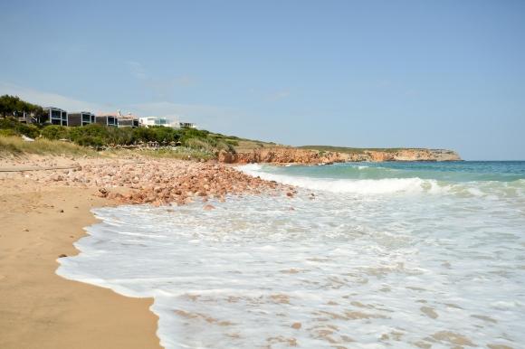 The Blue Flag sands of Praia do Martinhal, close to Sagres in Portugal's Algarve