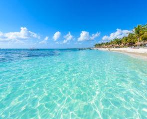 Akumal beach - paradise bay Beach in Quintana Roo, Mexiko - caribbean coast