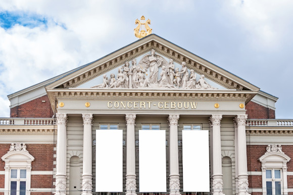 The archaeological and musical wonder of the National Music Hall in Amsterdam Holland