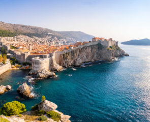 Dubrovnik Croatia Panorama of Game of Thrones setting