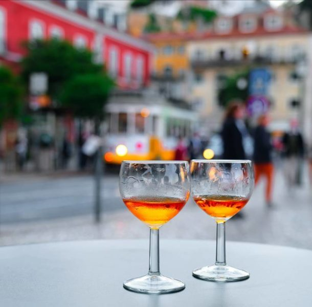 Port wine in Lisbon