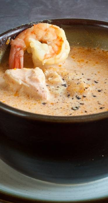 Icelandic fish soup