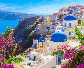 A view of Santorini