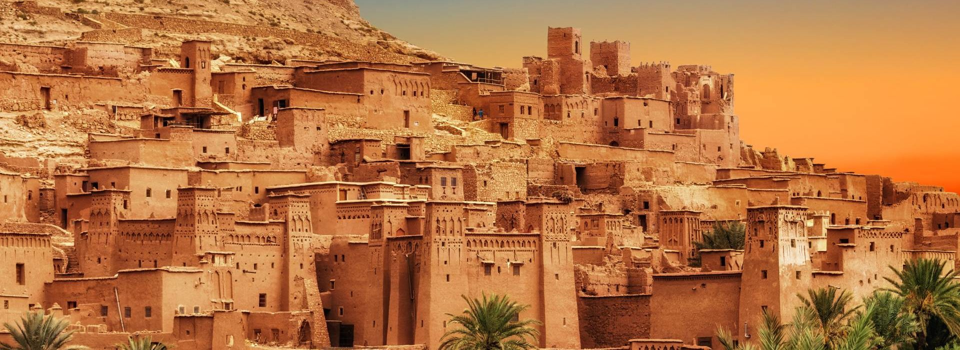 Kasbah Ait Ben Haddou in the Atlas mountains
