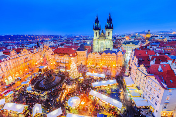 Prague Old Town Square Christmas Market