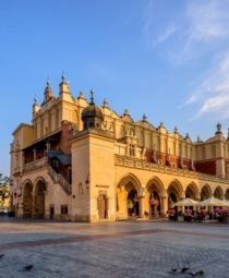 The Cloth Hall in Krakow