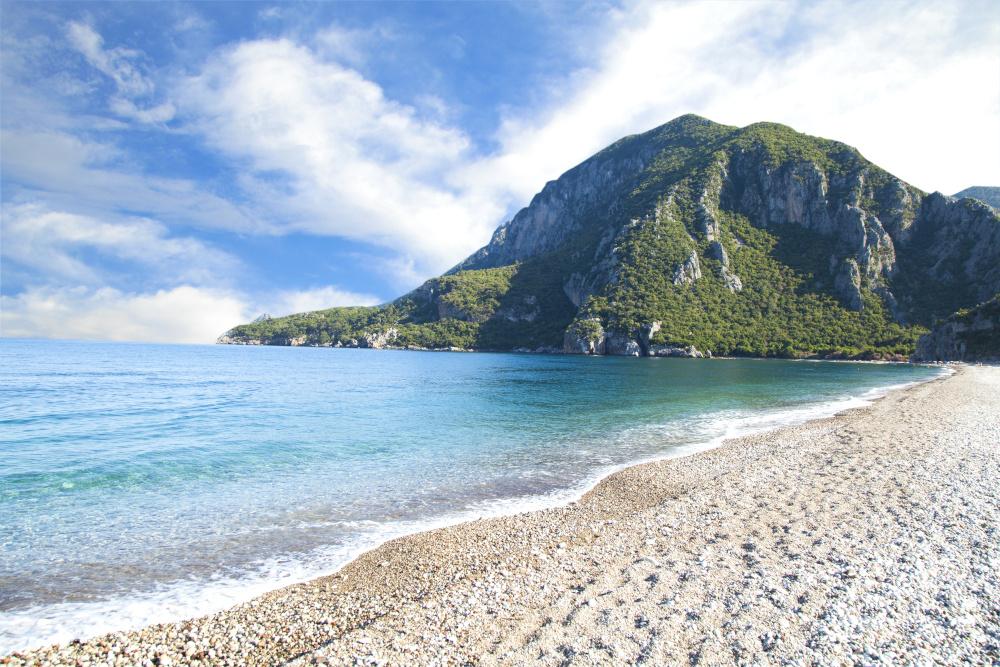 urkey. Antalya tourism landspaces