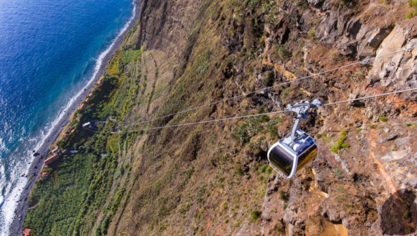 Cable Car ride up to Faji Dos Padras in Madeira