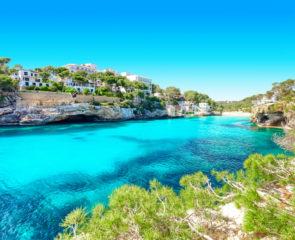 Cala Santanyi, Mallorca, Majorca, Spanien, Mittelmeer