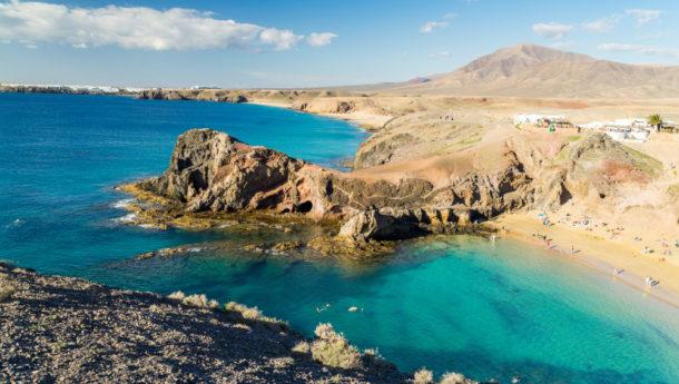 Lanzarote shores playa del carmen