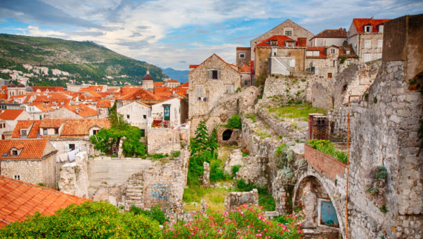 Old Town Dubrovnik and part of its timeless relics