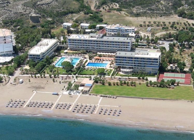 Blue Sea Beach Resort Rhodes   Holidays to Greek Islands   Broadway