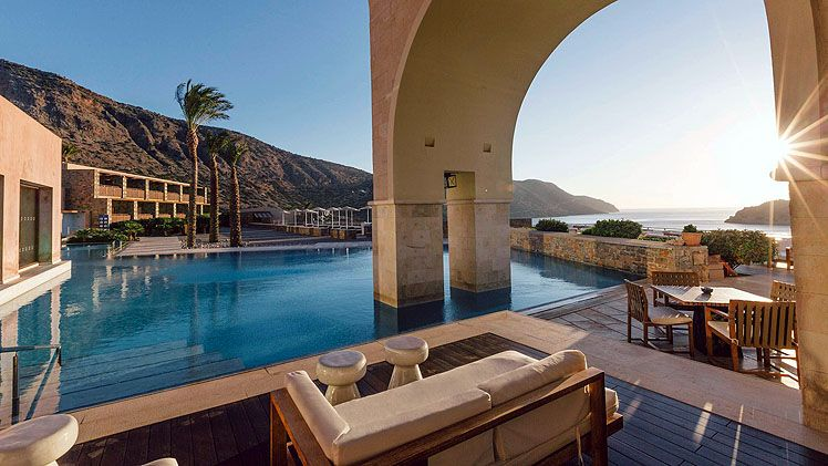 Blue Palace A Luxury Collection Resort Spa Crete Holidays To Greek Islands Broadway Travel